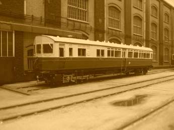 SCORPIO STEAM RAILMOTOR