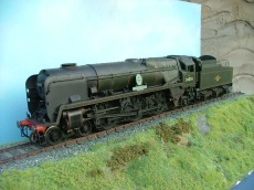 Built by Steve Neil, painted , lined and weathered by myself.